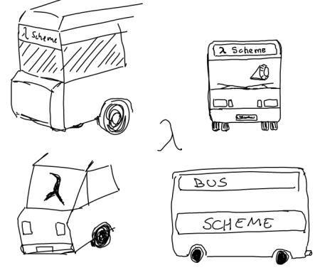 Bus Scheme logos